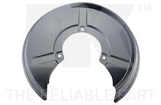 Ochranný plech proti rozstřikování, brzdový kotouč - NK 234797
