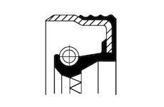 Tesnici krouzek hridele, diferencial CORTECO 12017376B