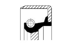 Tesnici krouzek,predlohova hridel CORTECO 12011455B
