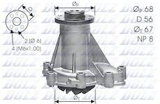 Vodní čerpadlo DOLZ M176