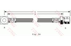 Brzdová hadice TRW PHD243