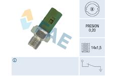 Olejový tlakový spínač FAE 12630