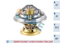 Termostat, chladivo FAE 5320485