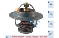 Termostat, chladivo FAE 5322482
