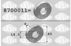Podlozka, remenice-klikovy hridel SASIC 8700011