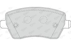 Sada brzdových destiček, kotoučová brzda DURON DBP351617