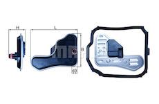 Hydraulický filtr, automatická převodovka MAHLE ORIGINAL HX 148D