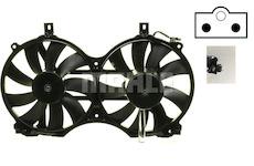 Větrák, chlazení motoru MAHLE ORIGINAL CFF 27 000S