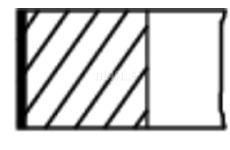 Sada pistnich krouzku MAHLE ORIGINAL 627 31 V0
