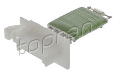 Odpor, vnitřní tlakový ventilátor TOPRAN 408 498