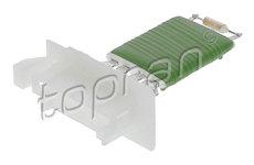 Odpor, vnitřní tlakový ventilátor TOPRAN 409 696