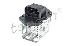 Predradny odpor, elektromotor-ventilator chladice TOPRAN 701 411