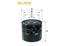 Olejový filtr WIX FILTERS WL7078