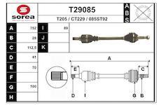 Hnací hřídel EAI T29085
