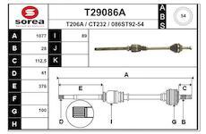Hnací hřídel EAI T29086A
