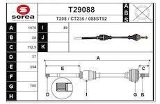 Hnací hřídel EAI T29088