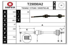 Hnací hřídel EAI T29090A2