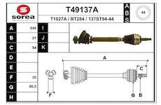 Hnací hřídel EAI T49137A