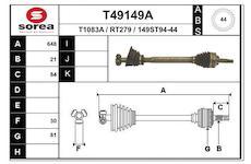 Hnací hřídel EAI T49149A