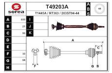 Hnací hřídel EAI T49203A