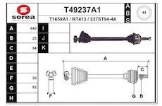Hnací hřídel EAI T49237A1