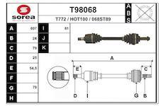 Hnací hřídel EAI T98068