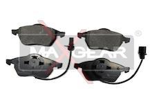 Sada brzdových destiček, kotoučová brzda - Maxgear 19-0660