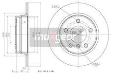 Brzdový kotouč - Maxgear 19-0693
