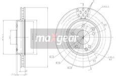 Brzdový kotouč MAXGEAR 19-0725