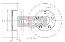 Brzdový kotouč - Maxgear 19-0756
