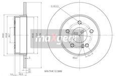 Brzdový kotouč MAXGEAR 19-1015