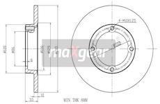 Brzdový kotouč MAXGEAR 19-1032