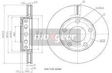 Brzdový kotouč - Maxgear 19-2450