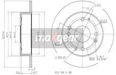 Brzdový kotouč - Maxgear 19-3343