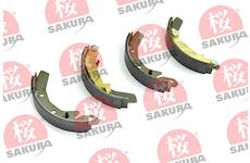 Sada brzdových čelistí SAKURA 602-00-8302