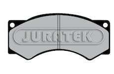 Sada brzdových destiček, kotoučová brzda JURATEK JCP376